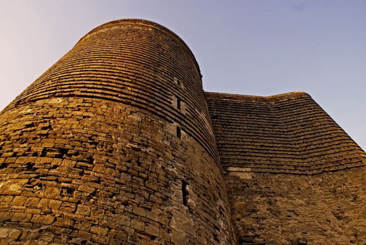 The Maiden Tower was built for defensive purpose, or may be for lookout post, or a fire beacon.
