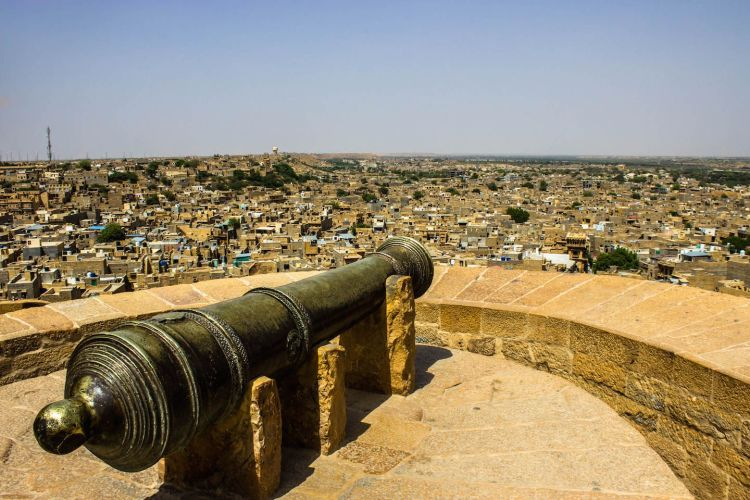 In the medieval times, the ancient Jaisalmer fort came to be celebrated for the chivalry and bravery of its rulers and also for the aesthetic sense represented by its palaces and Havelis.