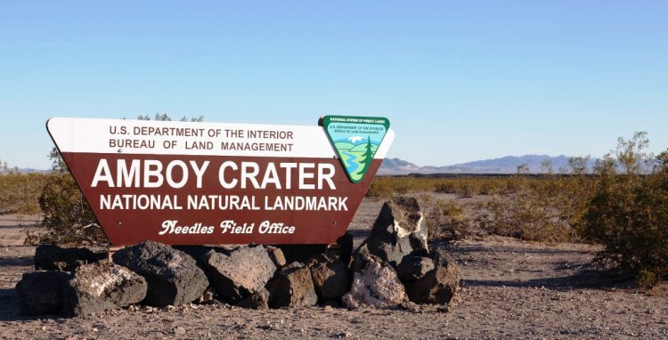 The Amboy Crater is popular sightseeing area due to its scenic beauty for all travelers.