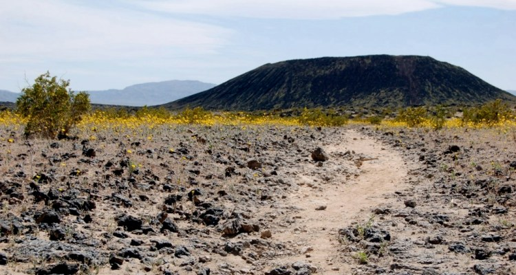 It is highly recommended using Western Cone Trail to reach the volcano peak's rim, a very steep and rocking hiking trail.