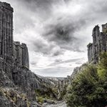 The Putangirua Pinnacles, New Zealand