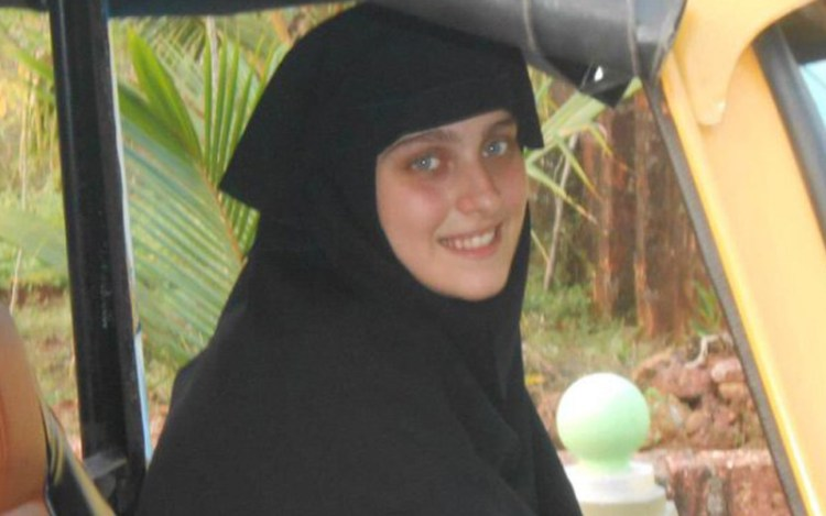 Manuela Franco Barbato, is now a pious Muslim is now prefers to be addressed herself as Aysha.
