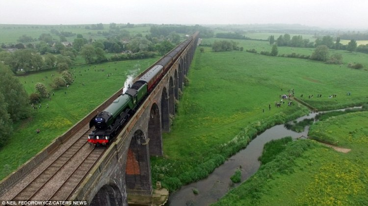 The 47 year old Neil Fedorowycz said; I cycle through this countryside very often and this viaduct is remarkable piece of engineering art work.