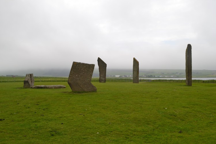 The stones themselves are very impressive, but why the Standing Stones of Stenness were erected is still a mystery.