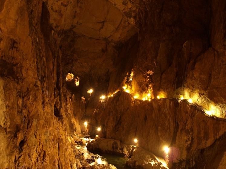 Currently, Slovenia is actively protecting Škocjan Caves system, established Škocjan Caves Regional Park and the Škocjan Caves Park Public Service Agency.