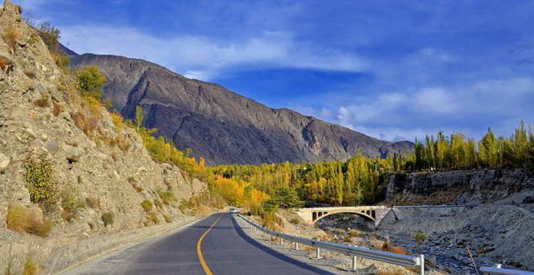 The Karakoram Highway is one of the most popular roads to travel in Pakistan if you're an adventure lover looking for a thrill.