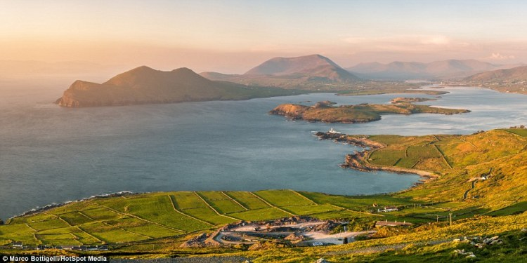 Those that make it to the top of Geokaun Mountain and Fogher Cliffs on Valentia Island (above), County Kerry, Republic of Ireland, are afforded a spectacular view