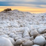 The Rare Phenomena of Frozen Ice Balls of Lake Michigan and Stroomi Beach