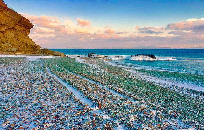The Spectacular Glass Beach of Ussuri Bay