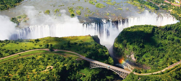 "CNN has been described as one of the Seven Natural Wonders of the world. The Victoria Falls also known as ""The Smoke That Thunders"" continues in common usage as well."