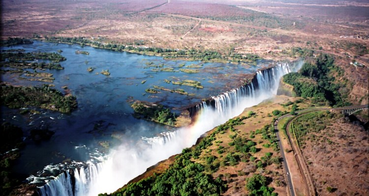 "Both countries permit tourists to make day trips across the border to view the falls from both viewpoints. A famous feature is the naturally formed ""Armchair"" also called ""Devil's Pool"", near the edge of the falls on Livingstone Island on the Zambian side."