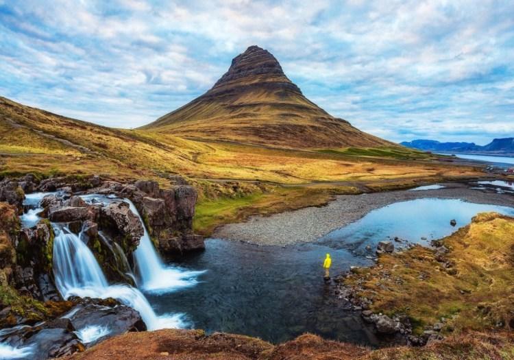 Kirkjufellsfoss Beautiful spot in the western part of Iceland.Photo Credit Michael Matti