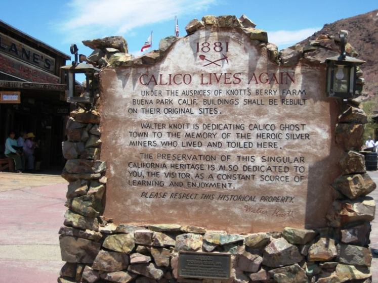 Thus, in 1966, Knott donated the town to San Bernardino County, and Calico became a County Regional Park. In 1962, Calico Ghost Town was registered as a California Historical Landmark. Moreover in 2002,