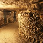 "Catacombes de Paris"" The Most Macabre Sight in its Underground Tunnels Lined with Skulls & Bones"