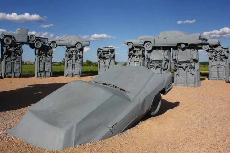 Carhenge is built by American artist Jim Reinders as a tribute to his dad in 1987, Secret Marvels says, that it's fast becoming a cult destination.