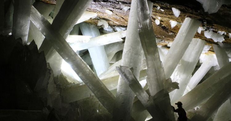 These days' scientists are working in the cave to conduct research on the crystals. Although the conditions are extremely difficult, but their efforts seem to be paying off.