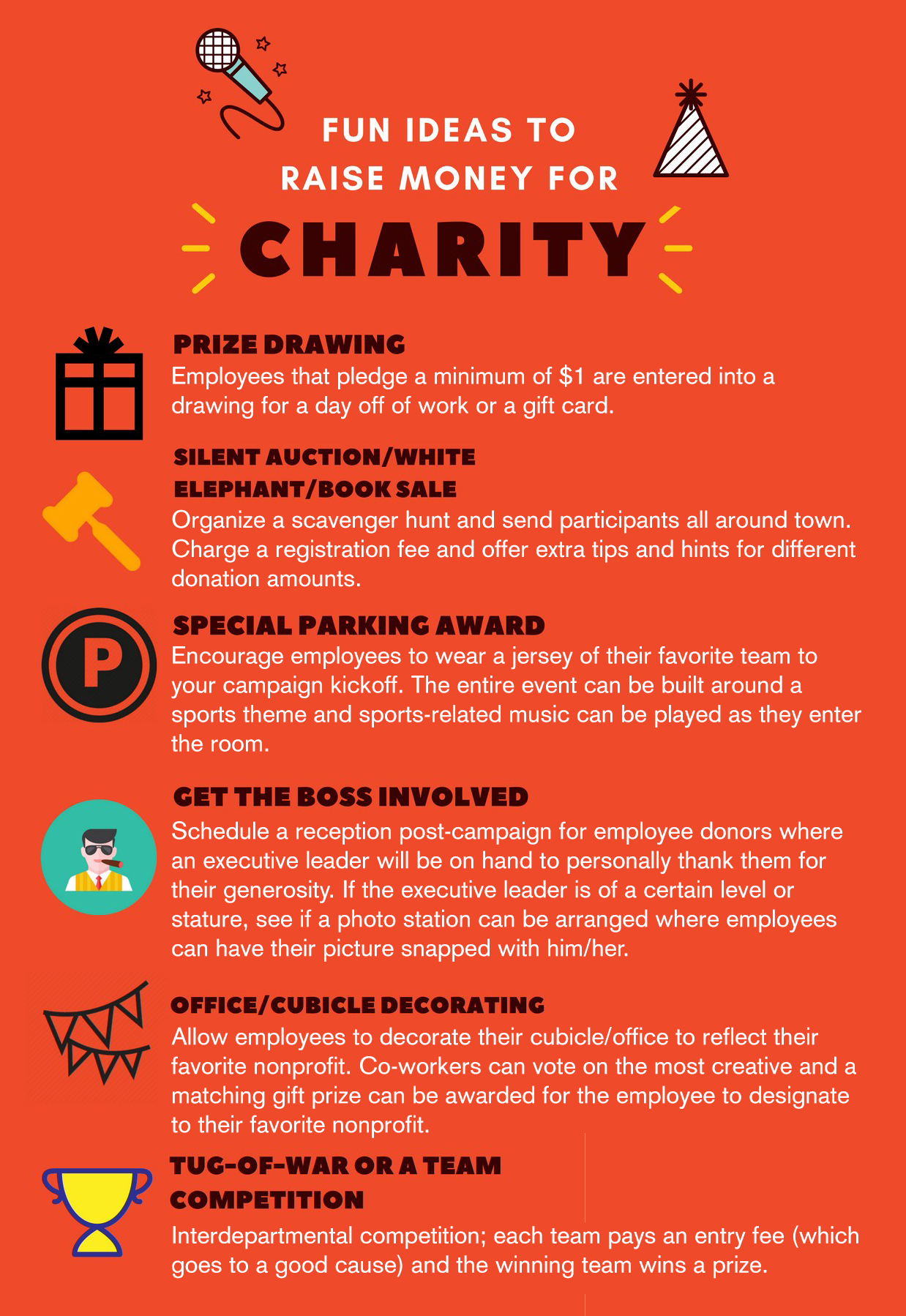 Fun Ideas for Engaging Employees and Raising Money for
