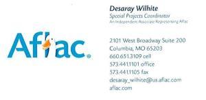 Desaray Wilhite Business Card
