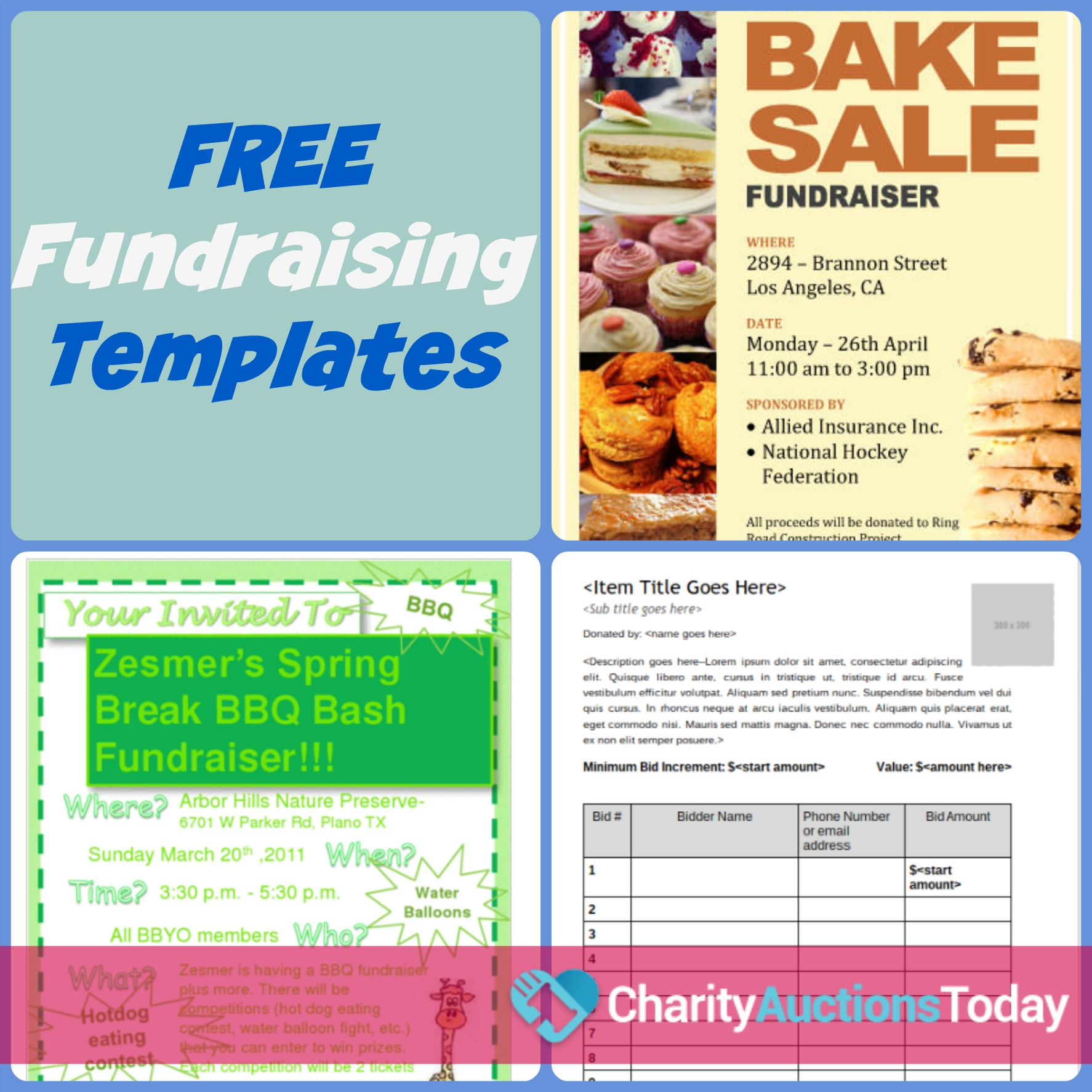 Fundraising Flyer Samples Ideal Vistalist Co
