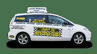 Our taxi in Pleasanton fleet has passenger friendly van options.