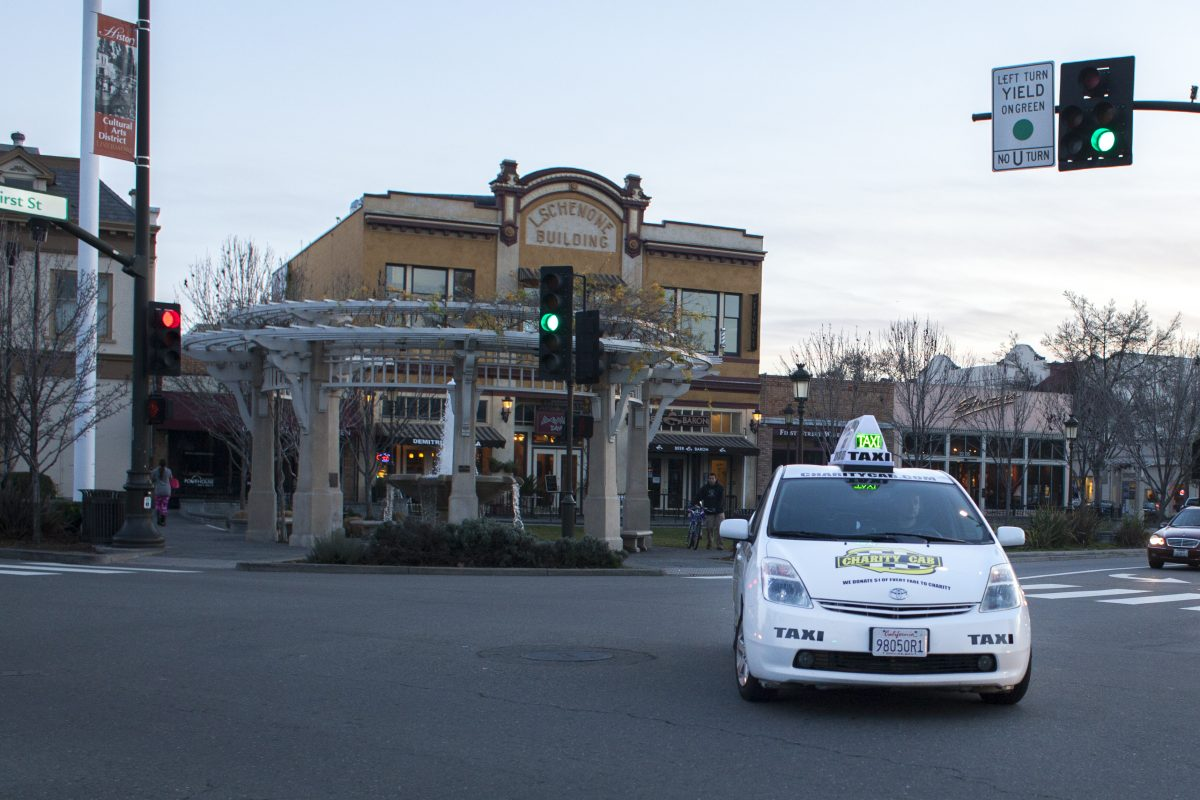 Charity Cab doing airport transportation in Livermore