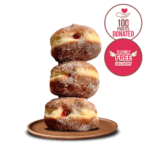 Jam Donuts – Box of 6