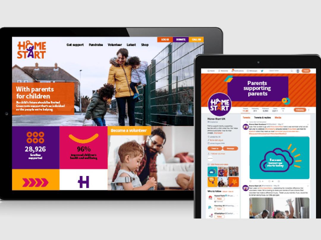 Homestart website