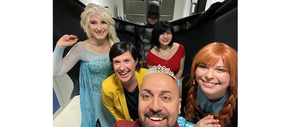 Selfie mit unseren Mentoren