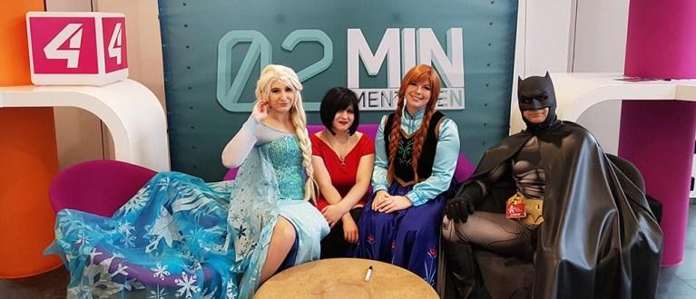2 Minuten 2 Mentoren – Wir waren im TV!