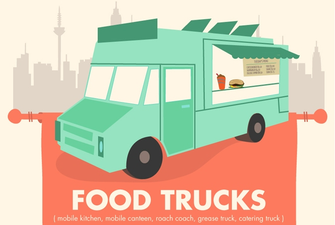 Day 6… Food Trucks, yo!