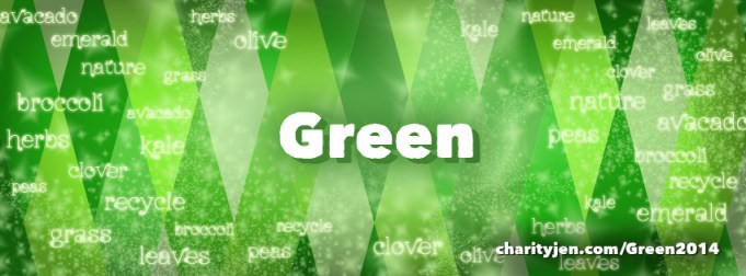 Being Green: The March Theme of the Month!