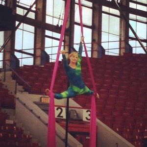 Miss Amanda & Her High-Flying Stunts