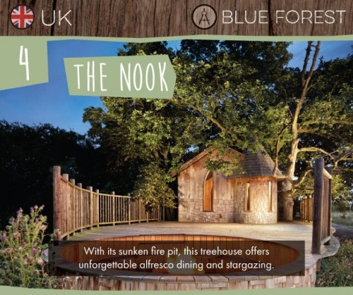 The Nook: One of the Seven Best Treehouses on Earth