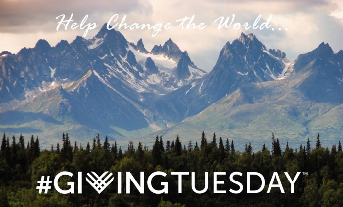 Change the World on Giving Tuesday