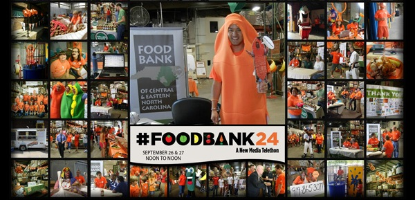 #FoodBank24: A New Media Telethon