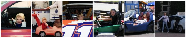 Behind the Wheel Through the Years...