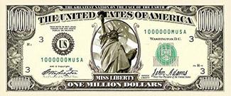 One Million Dollars from CharityJen