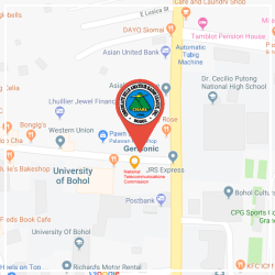 CHARL Office Location Map