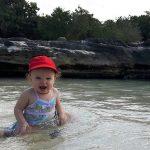 paradise, beach, toddler