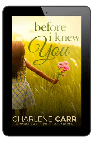 Before I Knew You Charlene Carr Kindle Image