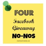 4 Facebook Contest and Giveaway No-Nos