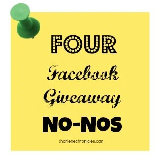 Facebook Giveaway Rules