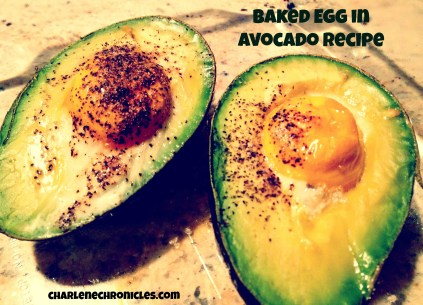 egg in avocado recipe | CharleneChronicles.com