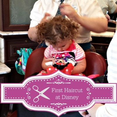 first haircut at disney