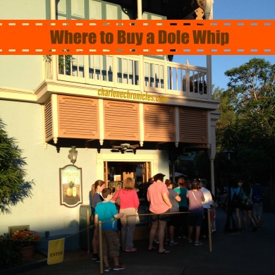 Where to find a Dole Whip