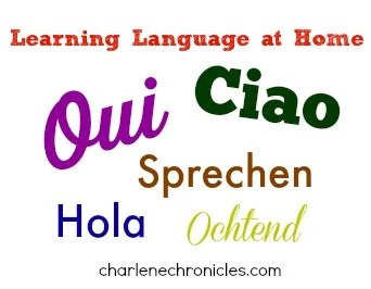 learning language at home
