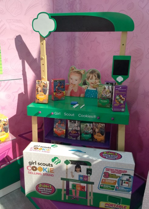 Girl Scout Cookie Stand Charlene Chronicles