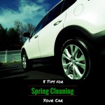 Five Tips for Spring Cleaning Your Car