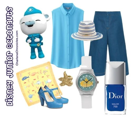 Octonauts Inspired Outfit