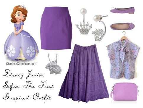 Sofia Inspired Outfit